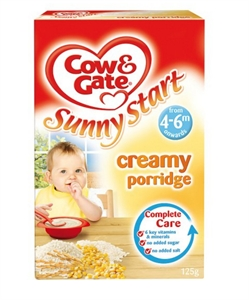 Picture of Cow And Gate Creamy Porridge 125G 4 Month Plus