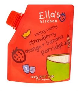Picture of Ella's Kitchen Wakey Strawberry Mango And Banana Baby Porridge 150G