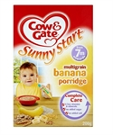 Picture of Cow & Gate Multigrain Banana Porridge 200G 7 Month Plus