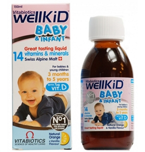 Picture of Wellkid Baby And Infant 150Ml