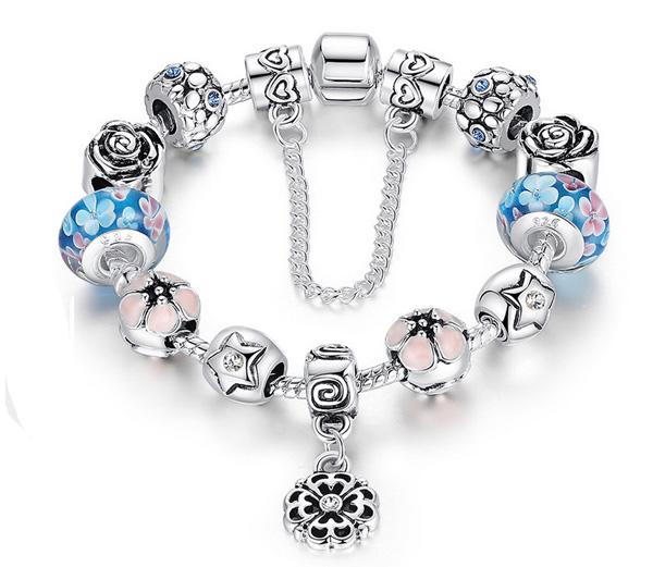 Pandora Type Jewelry: AthenaFashion Trading Ltd. Crystal Pandora Style Charm